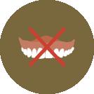 入れ歯は不満